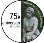 moneda 75 aniversari cementiri